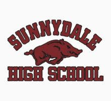 Sunnydale High Razorbacks Kids Tee