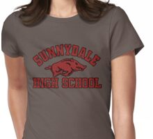 Sunnydale High Razorbacks Womens Fitted T-Shirt