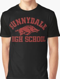 Sunnydale High Razorbacks Graphic T-Shirt
