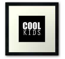 COOL KIDS Framed Print