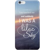 Lilac Sky- Colors by Halsey iPhone Case/Skin