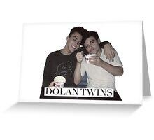 Dolan twins Greeting Card