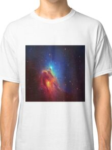 Star Nebula Space - Deep Blue Classic T-Shirt