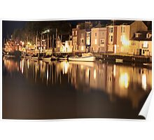 Weymouth Harbour, England, UK * Poster
