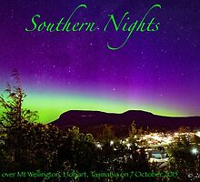 Southern Nights poster by Odille Esmonde-Morgan