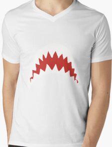 Sharkie Mens V-Neck T-Shirt