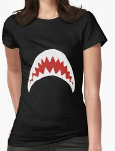 Sharkie Womens Fitted T-Shirt
