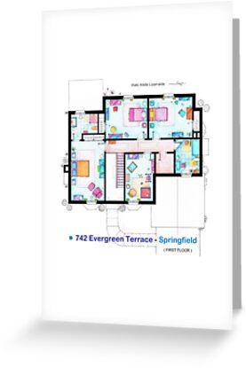 House of Simpson family - First Floor by Iñaki Aliste Lizarralde