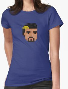 Mechon Head Womens Fitted T-Shirt