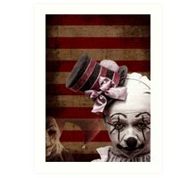Welcome to the Freakshow Art Print