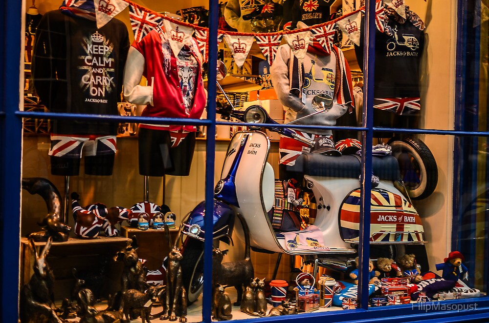 Union jack shop screen by FilipMasopust