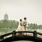 Hangzhou Lake wedding spot photography by FilipMasopust