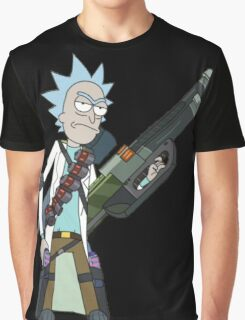 Badass Rick Graphic T-Shirt