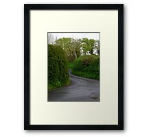 The Road To Erehwon Framed Print