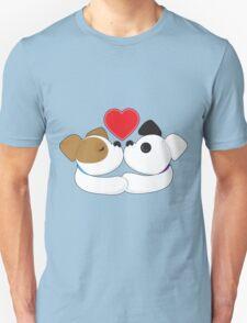 Puppies Kissing T-Shirt