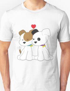 Puppy Couple Unisex T-Shirt
