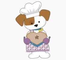 Puppy Love Pie One Piece - Short Sleeve