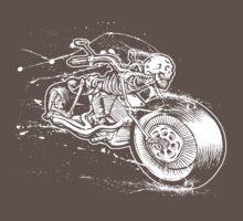 Skeleton Rider Kids Clothes