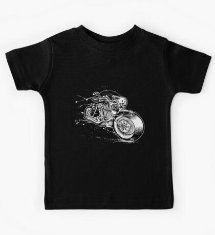Skeleton Rider Kids Tee