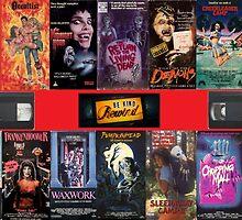 VHS Nasties by thegiltreys