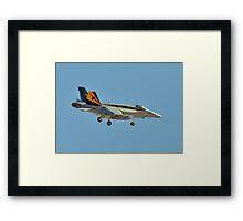 F/A-18E Super Hornet Framed Print