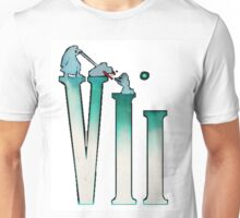 Final Fantasy VII: The Sacrifice Of Cloud - Numbers And Characters Unisex T-Shirt