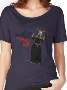 Arrow To The Ni!! Women's Relaxed Fit T-Shirt
