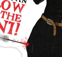 Arrow To The Ni!! Sticker