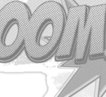 Boom-Cartoon style Sticker