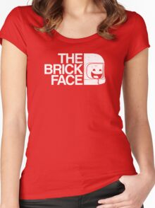 The Brick Face Women's Fitted Scoop T-Shirt