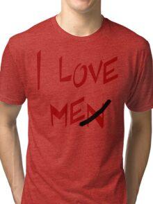 "Women's ""I Love Me"" Tri-blend T-Shirt"
