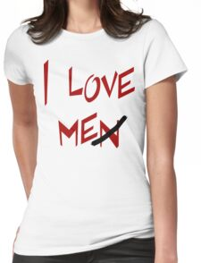 """Women's """"I Love Me"""" Womens Fitted T-Shirt"""