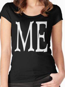 "Women's ""ME"" Dark Women's Fitted Scoop T-Shirt"