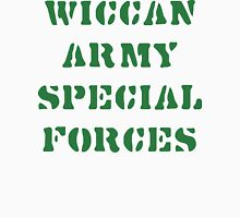 Wiccan Army Special Forces Womens Fitted T-Shirt