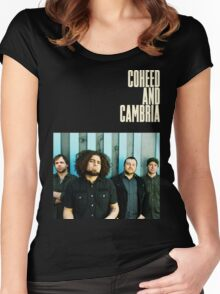Coheed and Cambria Gunahad3 Women's Fitted Scoop T-Shirt
