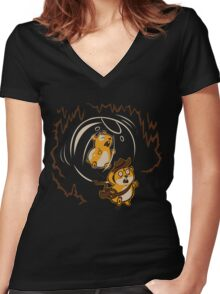 Rodents of the Lost Ark Women's Fitted V-Neck T-Shirt