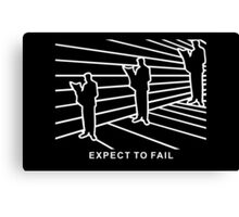 Ames Room - Expect to Fail Canvas Print