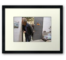 Looking for Brian Framed Print