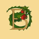 """Oscar and the Roses """"B"""" (Illustrated Alphabet) by Donna Huntriss"""