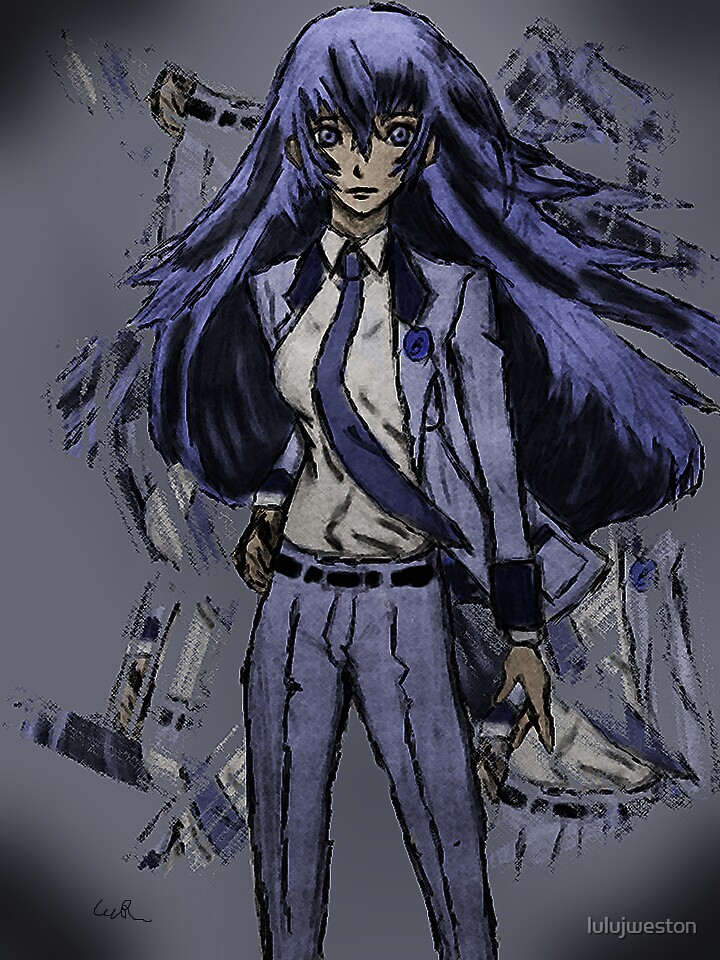 Detective Naoto by lulujweston