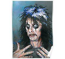 Alice Cooper - Fangoria cover art 307 Poster