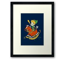 A Link in the Past Framed Print