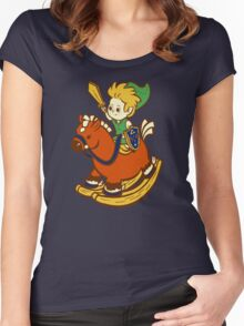 A Link in the Past Women's Fitted Scoop T-Shirt