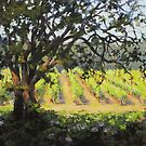 Vineyard's Edge by Karen Ilari