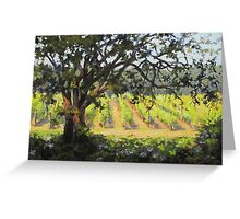 Vineyard's Edge Greeting Card
