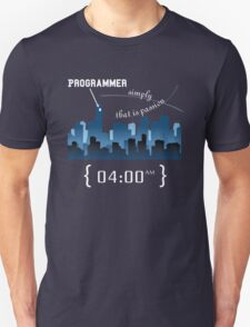 Programmer work at Night Unisex T-Shirt