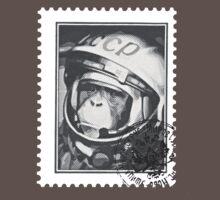 Soviet Space Monkey (Stamp) T-Shirt