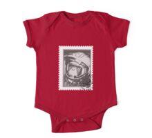 Soviet Space Monkey (Stamp) One Piece - Short Sleeve