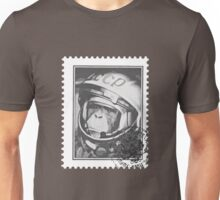 Soviet Space Monkey (Stamp) Unisex T-Shirt