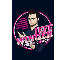 Jeff Winger: Speech Coach Photographic Print